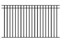 steel pool fence, fencing, aluminum pool fencing