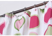 Extra Long Designer Shower Curtain