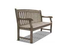 Renaissance Hand-scraped Acacia Outdoor Bench