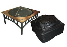 vinyl covers, fire pit covers, heater covers