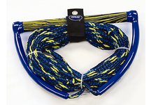 70' 3-Section Wakeboard/Kneeboard Rope w/EVA Swirl Grip - Elite