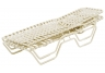 Country Club Cross Weave Strap Chaise Lounge