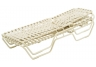 Country Club Cross Weave Strap Extended Chaise Lounge