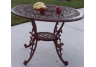Mississippi 42 Inch Dining Table Antique Bronze