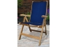 Navy Florida Teak Chair