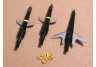 100 Grain 1.75-inch cut Swhacker Broadheads