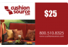 25 Cushion Source Gift Card