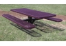 picnic table, rectangle picnic table