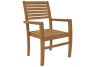 Teak Avant Stacking Chair