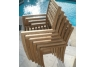 Avant Stacking Teak Chair