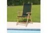 Black Teak Florida Chair