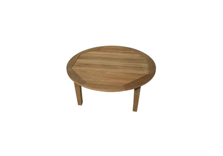 Miami Teak Round Coffee Table Teak Furniture Outlet