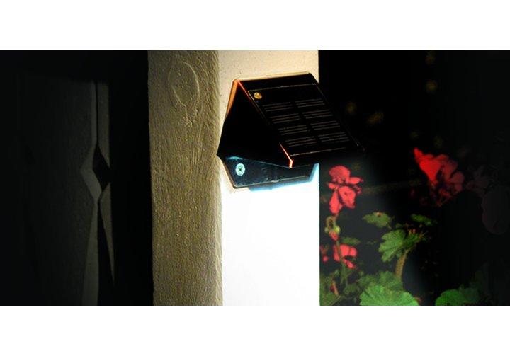 External Solar Wall Lights : Copper Solar Deck & Wall Light Post Cap Source
