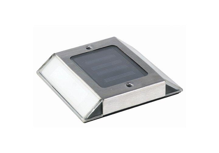 stainless steel solar path light post cap source. Black Bedroom Furniture Sets. Home Design Ideas