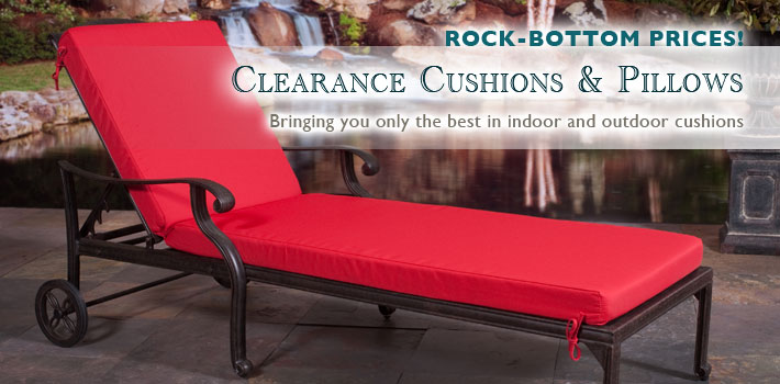Clearance Cushions and Pillows