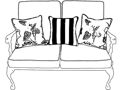 Custom Outdoor Throw Pillows