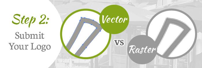 Vector versus Raster logos