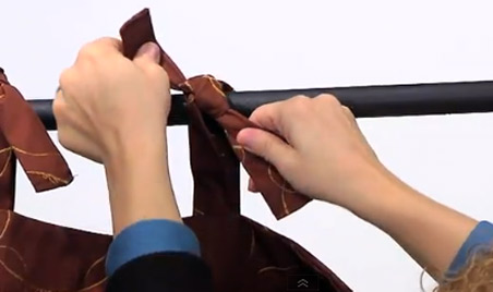 Custom Drapes from Cushion Source