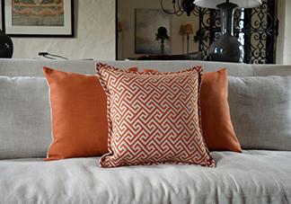 Orange Throw Pillows & Decorative Pillows for a Bold Look