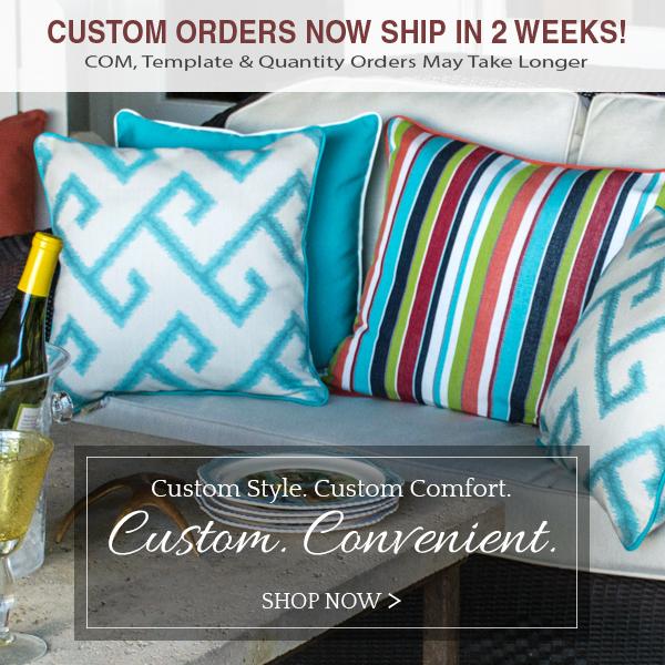 Custom Cushions And Pillows