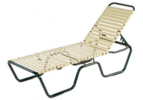 Neptune Strap Chaise Lounge Umbrella Source