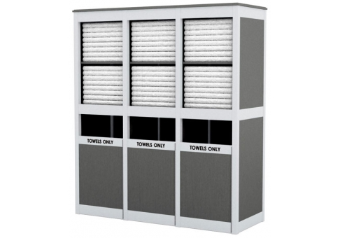 SL Triple Towel Shelf | Commercial Site Furnishings
