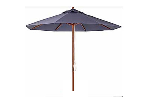 11 Wood Market Umbrella Frame Only Umbrella Source