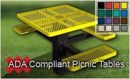 ADA Compliant Picnic Table