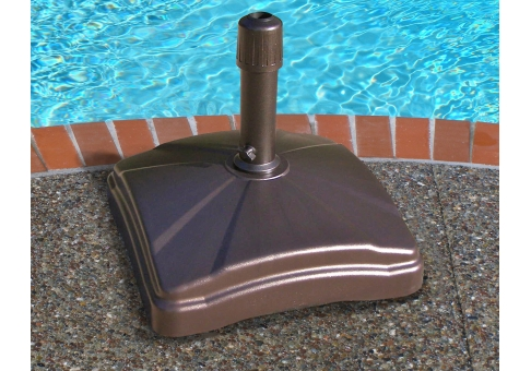 Shademobile Rolling Umbrella Stand Holds 125 Lbs