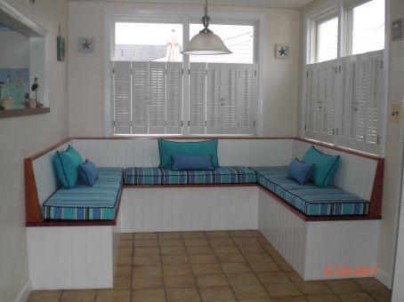 Sunbrella bench cushions