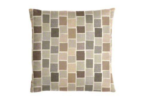 Merveilleux Sunbrella Blox Slate Pillow