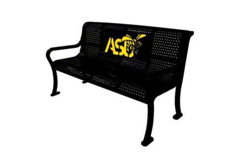 LED custom metal bench your logo