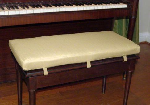 Custom Piano Bench Cushion Deluxe Cushion Source