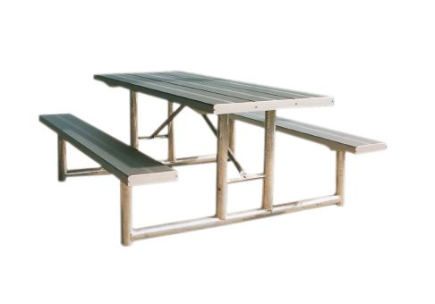 HPT Series Heavy Duty Picnic Table Frame Commercial Site Furnishings - Commercial picnic table frames