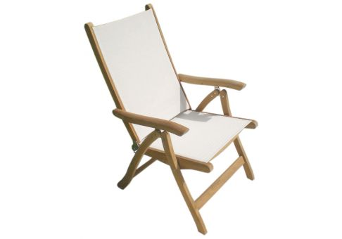Reclining Teak Florida Chair