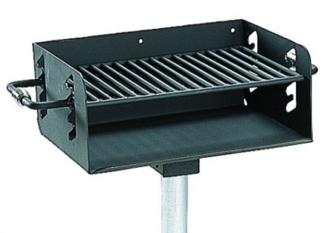 Ada 280 Sq In Charcoal Grill Commercial Site Furnishings
