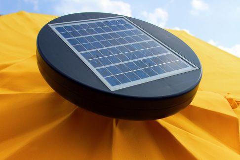 9 Commercial Illumishade Solar Market Umbrella Umbrella
