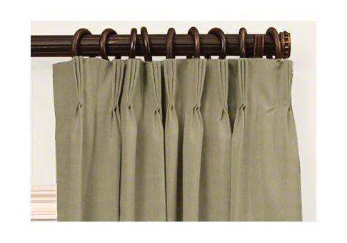 Custom French Pleat Drapes Cushion Source Ca