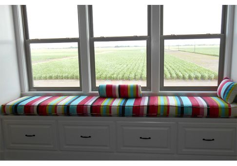 Custom Window Seat Cushion Standard