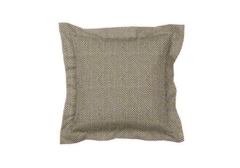 Custom Designer Throw Pillow With Flange Cushion Source Ca