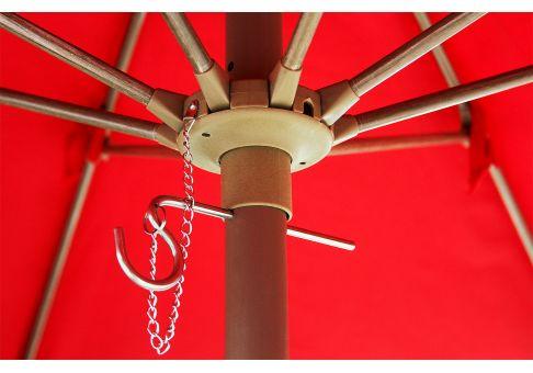 7 5 Aluminum Market Umbrella With Fiberglass Ribs Frame