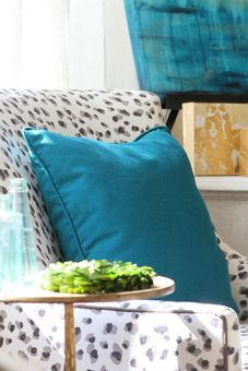 Teal Decorative Throw Pillows
