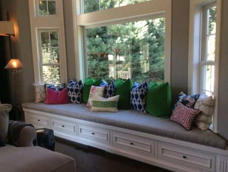 Astonishing Custom Bay Window Cushions Designer Custom Source Bralicious Painted Fabric Chair Ideas Braliciousco
