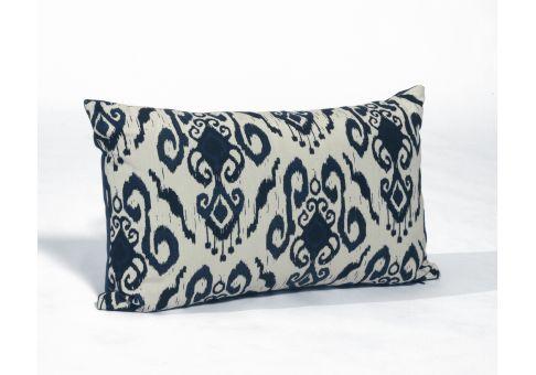 Ikat Amalfi Outdoor Throw Pillow