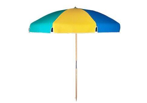 7 5 Beach Umbrella With Ash Wood Pole Beach Ball