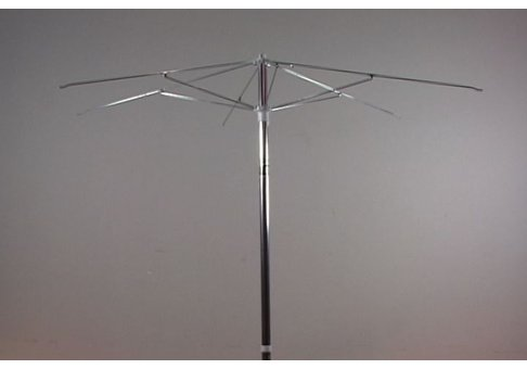 7 5 Aluminum Patio Umbrella With Steel Ribs Frame Only