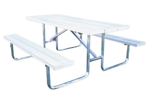 Standard AT Series Picnic Table Frame Commercial Site Furnishings - Steel picnic table frame