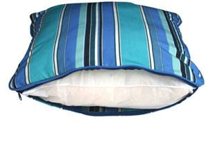 Pillow with poly bun filling