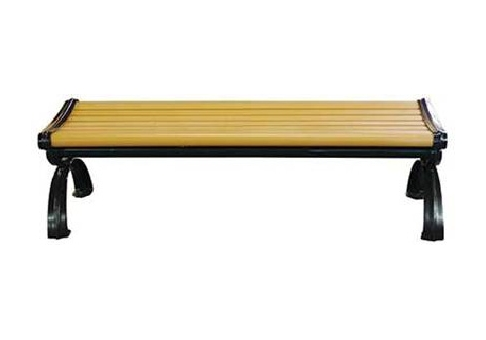 Composite Plastic Wood 6 Backless Victorian Bench