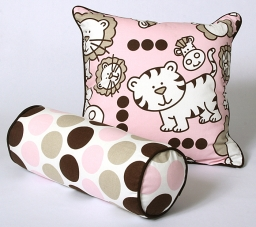 CushionSource.com Pink Babies Fancy Set